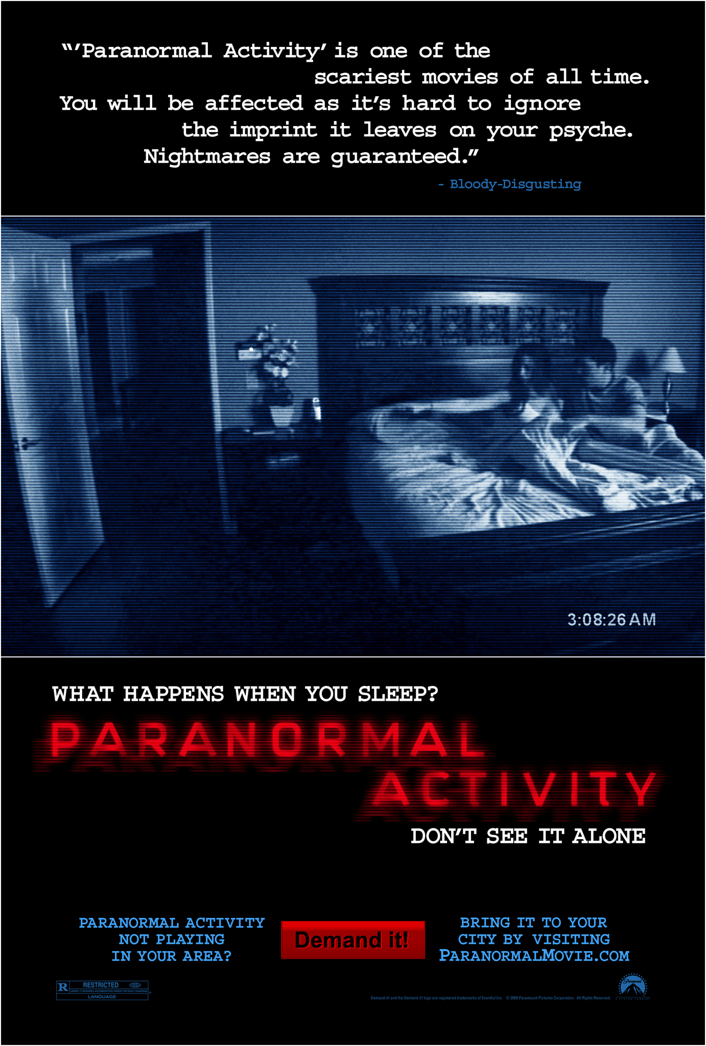 Paranormal Activity Top 10 Halloween Horror Movies